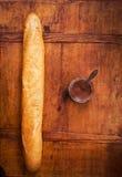 Французский багет с шоколадом стоковые изображения