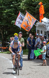 Французский велосипедист Marino Jean Марк Стоковое Фото