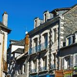Французский город стоковое изображение