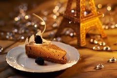 Французский десерт стоковая фотография rf