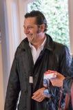 Французский комедийный актер Laurent Gerra во время во время 41st фестиваля фильмов американца Deauville Стоковое Фото
