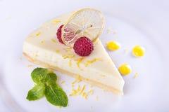Французский пирог лимона Стоковые Фотографии RF