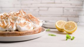 Французский пирог с Merengue видеоматериал