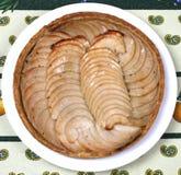 Французский пирог яблока Стоковое Фото