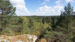 Французский природный парк стоковое изображение rf