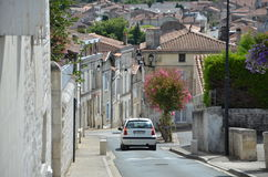 Французский путь всадника вниз Стоковое Изображение