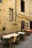 французский ресторан Стоковое Изображение