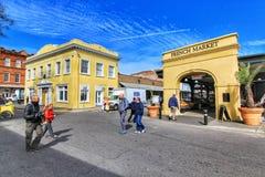 Французский рынок в Новом Орлеане, Луизиане стоковые фотографии rf