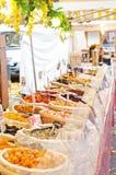 Французский рынок еды Стоковое фото RF