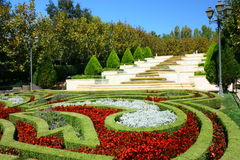французский сад Стоковое Изображение