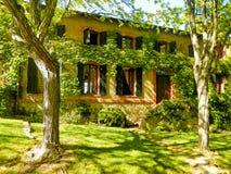 Французский сельский дом, Провансаль, Франция Стоковое фото RF