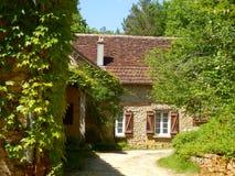 Французский сельский дом и Gite Стоковые Изображения