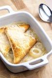 французский суп лука Стоковые Изображения