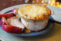 французский суп лука Стоковая Фотография