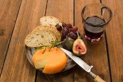 Французский сыр Стоковые Фотографии RF
