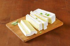 Французский сыр Carre de l'Est Стоковое фото RF