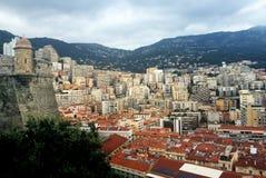 Французский riviera Монако monte carlo гавань стоковые изображения