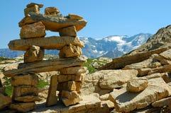 Французское альп Стоковая Фотография RF