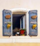 французское окно Стоковые Изображения