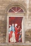 французское окно Стоковая Фотография
