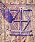 Французское окно стоковые изображения rf