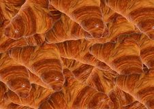 Французское печенье заполненное с шоколадом Стоковая Фотография