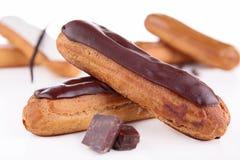 Французское печенье eclair стоковое изображение