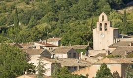 Французское село, типичный городок. Провансаль. Франция. стоковые фото