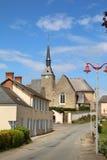 французское село Стоковое Изображение