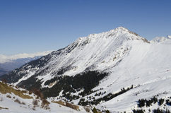 Француз Альпы Стоковое Изображение