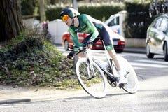 Француз велосипедиста Romain Sicard Стоковые Фотографии RF
