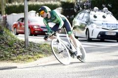 Француз велосипедиста Romain Sicard Стоковые Фото