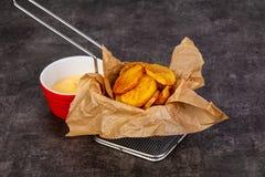 Француз зажарил картошку Стоковое Фото