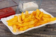Француз зажарил картошку Стоковые Изображения RF