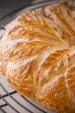 Француз торт, торт короля Стоковая Фотография