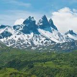 Франчуз альп Стоковые Изображения