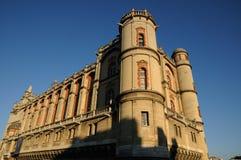 франчуз замока Стоковое Изображение RF