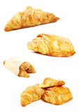 франчуз круасанта завтрака Стоковые Изображения