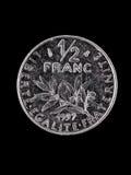 франчуз франка монетки Стоковые Изображения RF