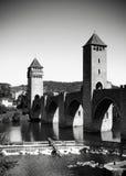 франчуз cahors моста Стоковые Фотографии RF