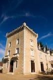 франчуз charente замока стоковое фото rf