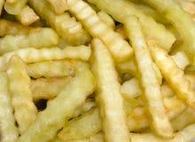 франчуз crinkle жарит макрос Стоковое фото RF