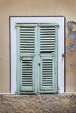 франчуз shutters окно Стоковые Изображения