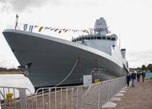 Фрегат HDMS Niels Juel (F363) Стоковое Изображение