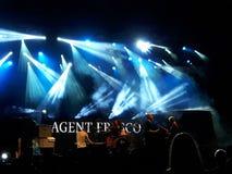 Фреска агента в реальном маштабе времени Стоковое фото RF