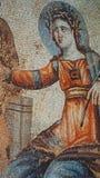 Фреска в археологическом парке Paphos стоковые изображения rf