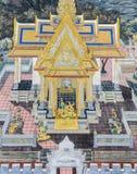 Фреска настенной росписи эпопеи Ramakien на грандиозном дворце в Бангкоке, Th Стоковое фото RF