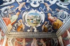 Фреска на крыше Стоковые Изображения RF