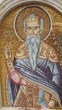 Фреска святого человека в Кипре стоковые фотографии rf