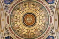фреска paris xavier francois церков Стоковые Фотографии RF